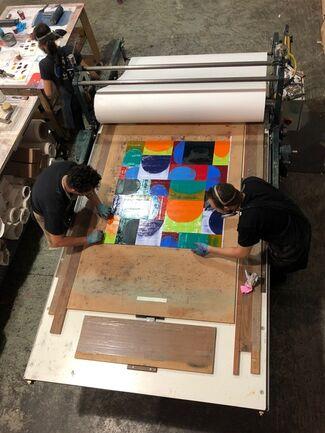 Stoney Road Press at IFPDA Fine Art Print Fair Online Fall 2020, installation view
