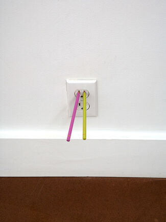 Davide Balula - Wall to Wall, installation view