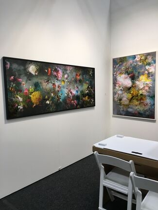 Muriel Guépin Gallery at Art on Paper New York 2018, installation view
