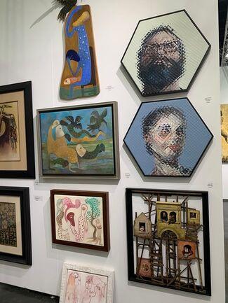 Latin Art Core at Art Palm Beach 2019, installation view