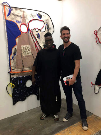 THIS IS NOT A WHITE CUBE at Investec Cape Town Art Fair 2018, installation view