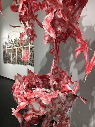 "Yizhak Elyashiv ""Prints and Drawings"" / Joo Lee Kang ""VictoriANimals"", installation view"