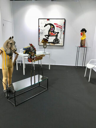 Galry at Art Up! Lille 2018, installation view