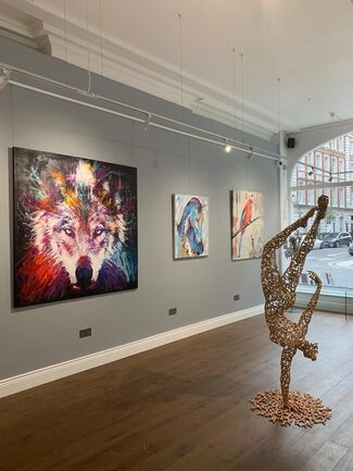 Party Like an Animal, installation view