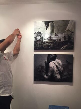 """Marwa Adel's """"The Journey"""", installation view"""