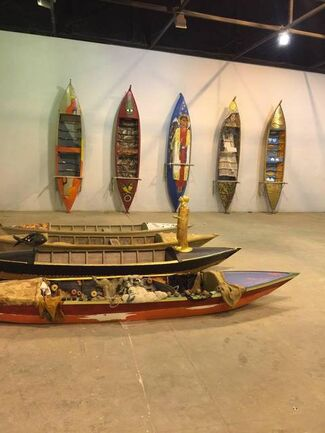 Boats of the Borrollos, installation view