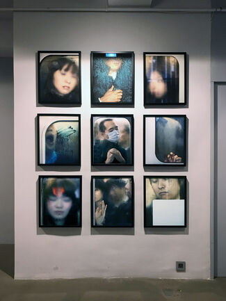 Tokyo Compression by Michael Wolf, installation view