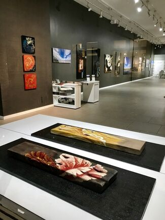 """Ultimate Chinese """"Da Qi """" Lacquer Art Show, installation view"""