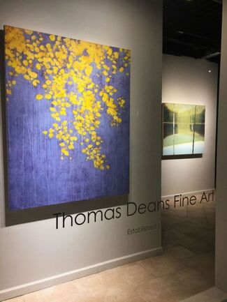 A Corner of Nature: Paintings by Donald Beal, David Kidd, and Stephen Pentak, installation view