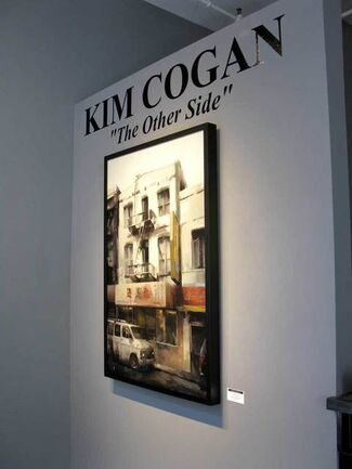 """KIM COGAN """"THE OTHER SIDE"""", installation view"""