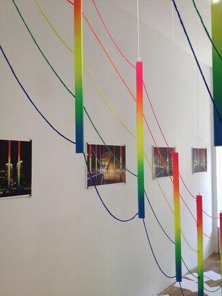 """Rainbow Inside"" by Fabian Freese, installation view"