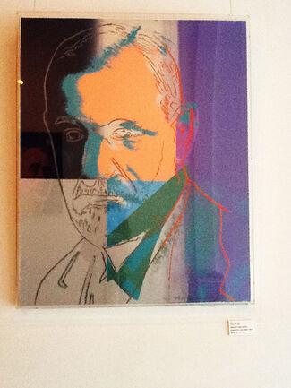Andy Warhol's Ten Prolific Jews, installation view