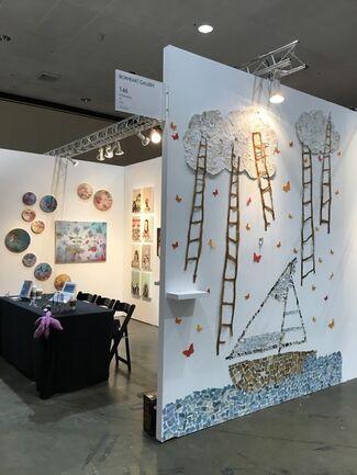 BoxHeart at LA Art Show 2019, installation view
