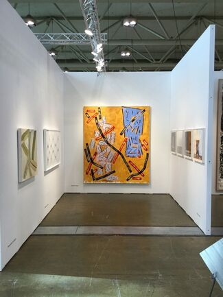 Corkin Gallery at Art Toronto 2015, installation view
