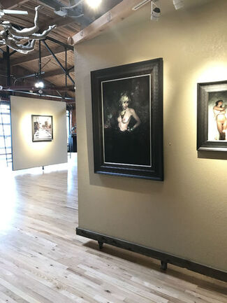 Three Person Exhibition: Greg Gandy, Jeremy Mann and Timothy P Wilson, installation view