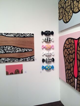 Kips Gallery at Palm Springs Fine Art Fair 2015, installation view