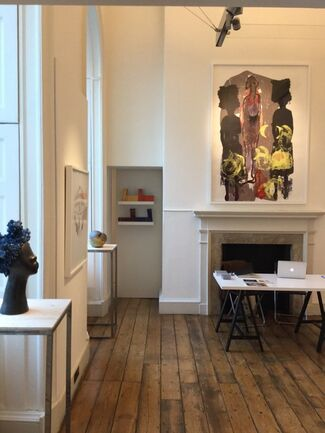 Tiwani Contemporary at 1:54 Contemporary African Art Fair London 2015, installation view