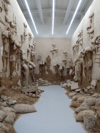 Adel Abdessemed : L'âge d'or, installation view