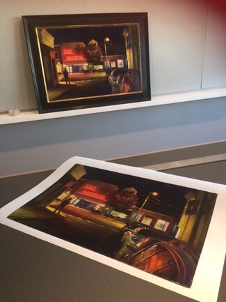 The Last Show - Limited Edition Prints, installation view