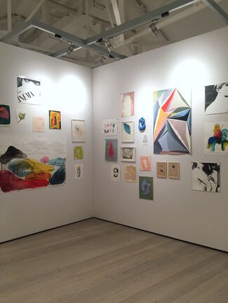Galerie Pixi - Marie Victoire Poliakoff at Draw Art Fair London 2019, installation view
