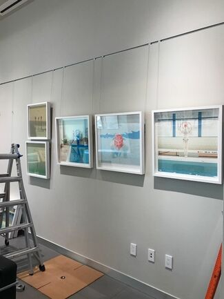 Momentum Fine Art: Maria Svarbova: Swimming Pool -Leica Gallery, installation view