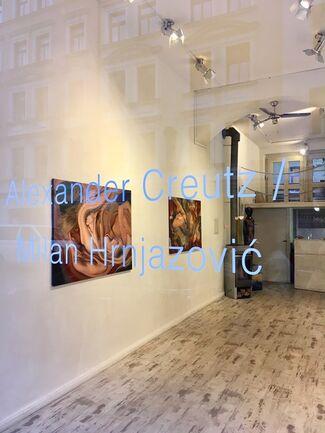 Alexander Creutz & Milan Hrnjazović, installation view
