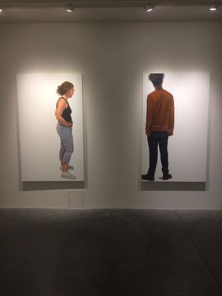 Susan White Brown: Looking at Looking, installation view