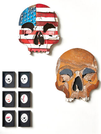 Skull Show, installation view