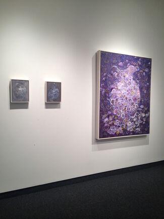 """Alice Denison """"MetaFlor"""" / Ed Stitt """"Fenway and Beyond"""", installation view"""