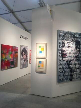 JF Gallery at Art Wynwood 2018, installation view