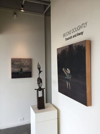 Michele Mikesell and Brooke Golightly, installation view