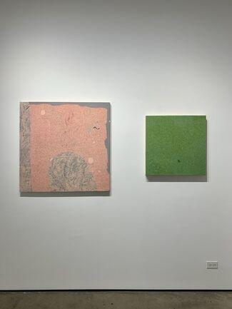 Detritus, installation view