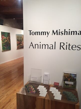 Tommy Mishima: Animal Rites, installation view