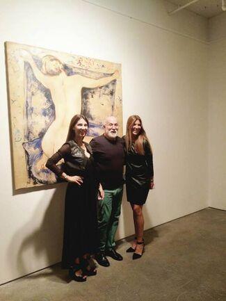 Alain Bonnefoit:  Nudes, installation view