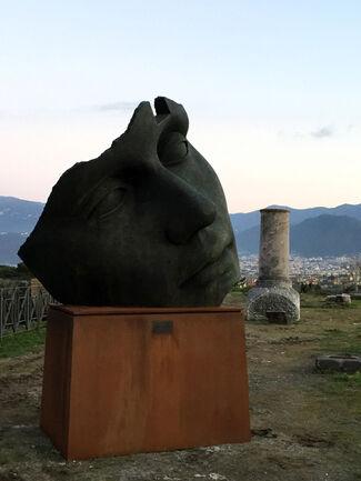 Mitoraj in Pompeii, installation view