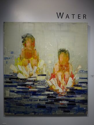 Water, installation view