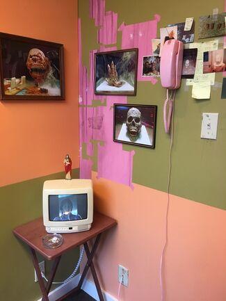 "George Jenne, ""ASS, BACKWARDSS"", installation view"