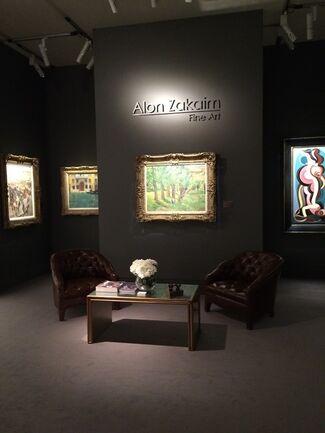 Alon Zakaim Fine Art at TEFAF Maastricht 2015, installation view
