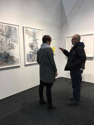 Tamarind Institute at Art on Paper New York 2017, installation view