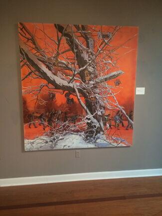 Nathan Lewis at Oglethorpe University Museum of Art, installation view