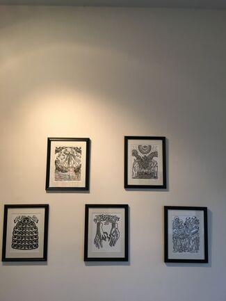 """Nine Lives"", installation view"