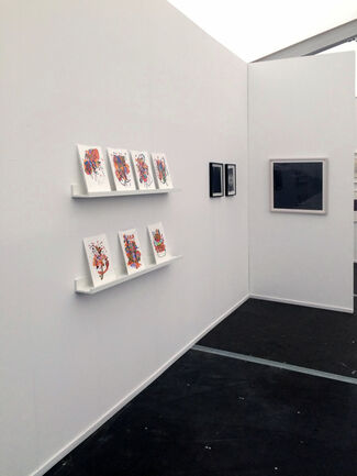 LMAK Projects at Amsterdam Drawing 2015, installation view
