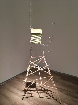 """Permutations of Vulnerability"", International Sculpture Center Artist Residency Exhibition, installation view"