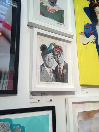 Imitate Modern at Moniker Art Fair, installation view