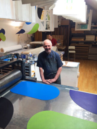 Stoney Road Press at IFPDA Print Fair 2015, installation view