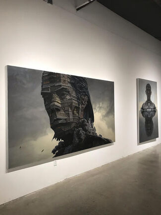 """""""Sights of the Mount Sumeru"""", installation view"""