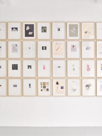 Dieter Fuchs - HEADLINES (usw.), installation view
