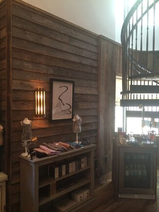 Totem Geometry: Study Sketches by Philip Michael Wolfson at the Soho Beach House, Miami, installation view