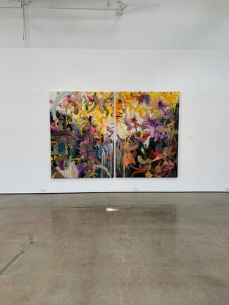 Voices: Ángel Ricardo Ríos, Lino Lago & Damián Aquiles, installation view