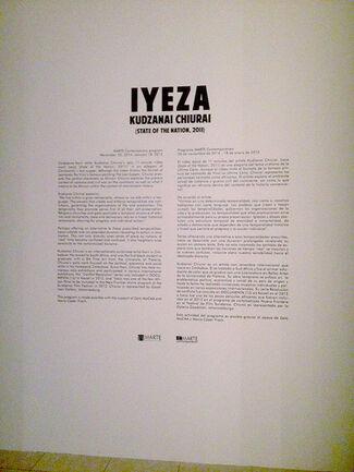 """Kudzanai Chiurai """"Iyeza, State of The Nation"""", installation view"""